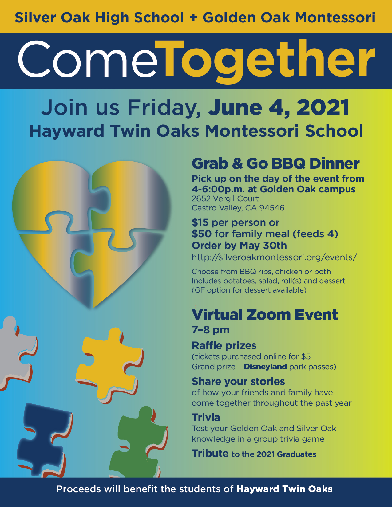 Come Together event, June 4th 2021
